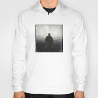 shadow Hoodies featuring Shadow by Dave Houldershaw