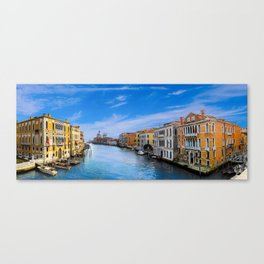 Venice, Italy Canels right before twilght Canvas Print