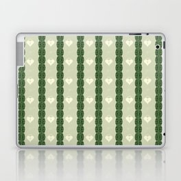 Green Locket Laptop & iPad Skin