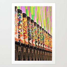 Candy Store Art Print