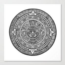 Aztec Roots Canvas Print