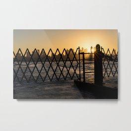 Staten Island Ferry: Sunrise Metal Print