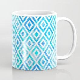Diamond Geo Watercolor Coffee Mug