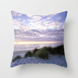 Carol M Highsmith - Sunrise on a Florida Beach Throw Pillow