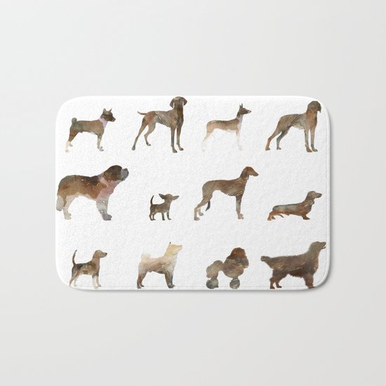 Dogs Bath Mat