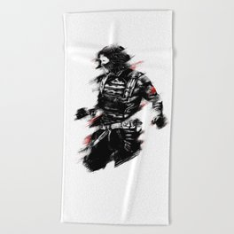 The Winter Soldier Beach Towel