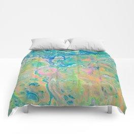 Paint Ball Rainbow Comforters