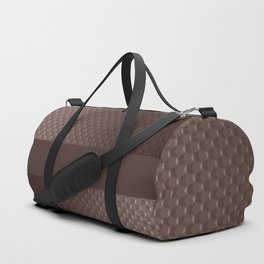 Brown mother of pearl Duffle Bag