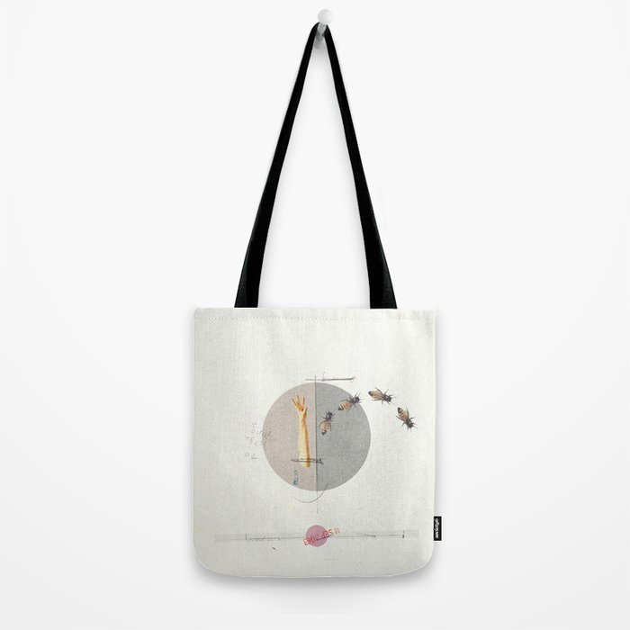 Gravity | Collage Tote Bag