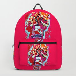 No 5 Pink Colored Backpack