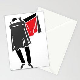 DABBING DRACULA T-SHIRT Stationery Cards