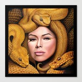 Ania Medusa Canvas Print