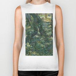 "Vincent Van Gogh ""Trees and undergrowth"" Biker Tank"