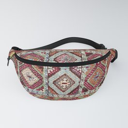 Gaziantep  Antique Turkish Rug Print Fanny Pack