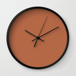 Mix + match // Origami Geo Tile // Terracotta Wall Clock
