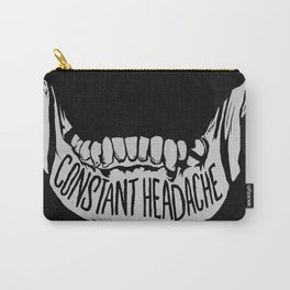 Constant Headache Carry-All Pouch
