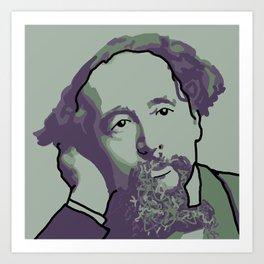 Charles Dickens Art Print