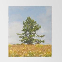 Meadow Warden Throw Blanket