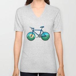 Bike Ride Unisex V-Neck