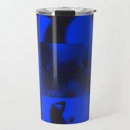 Silhouette Series (Blue) Travel Mug