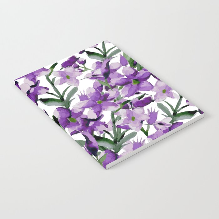 Lilac. Watercolor Notebook