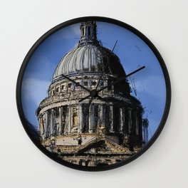 St Paul's Catherdral, London. Wall Clock