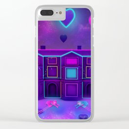 Living  In Fairy Tales Clear iPhone Case