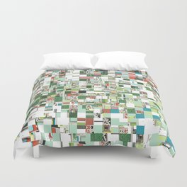 Chaotic Clusters of Green Duvet Cover