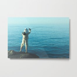 Fishers Anonymous Metal Print