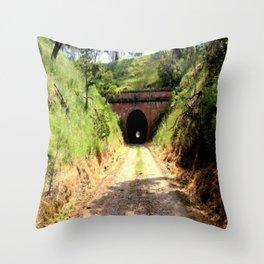Cheviot Tunnel #2 Throw Pillow