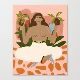 Crazy Plant Lady II Canvas Print