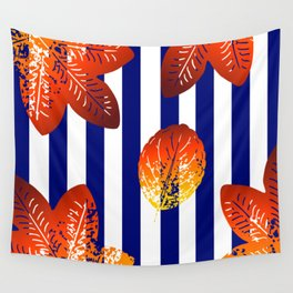 stripes pattern Wall Tapestry