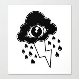 Eye Cloud Canvas Print