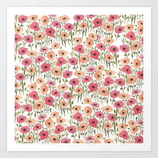 Garden Print Art Print