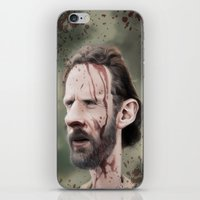 rick grimes iPhone & iPod Skins featuring Rick Grimes by dbruce