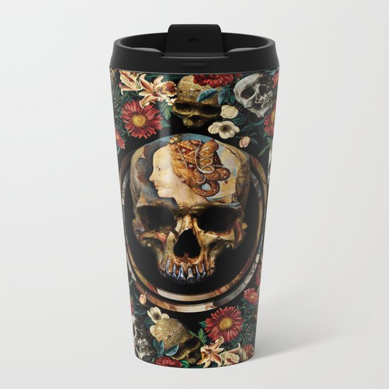 SIMONETTA IANVENSIS VESPVCCIA Metal Travel Mug