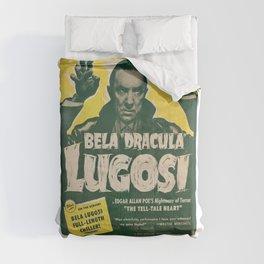 Dracula, Bela Lugosi, vintage poster Comforters