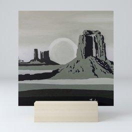 Monument Valley #1 Mini Art Print
