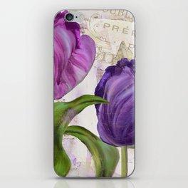Parrot Tulips iPhone Skin