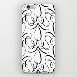 Curly Pattern 04 iPhone Skin