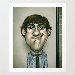 Caricature #4 Art Print