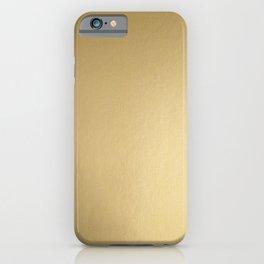 Classic Luxury Gold iPhone Case