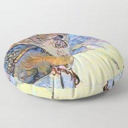 Sing Little Wren Floor Pillow