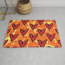 Joy 5 by Kathy Morton Stanion Rug