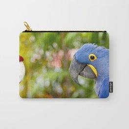 Blue Hyacinth Macaw - Anodorhynchus hyacinthinus Carry-All Pouch