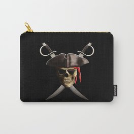 Pirate Skull And Swords Carry-All Pouch