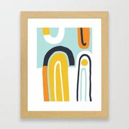 Abstract Colour #1 Framed Art Print