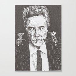 Walken and his rats Canvas Print