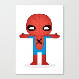 SPIDER MAN ROBOTIC Canvas Print