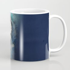 Wings of time - blue Mug